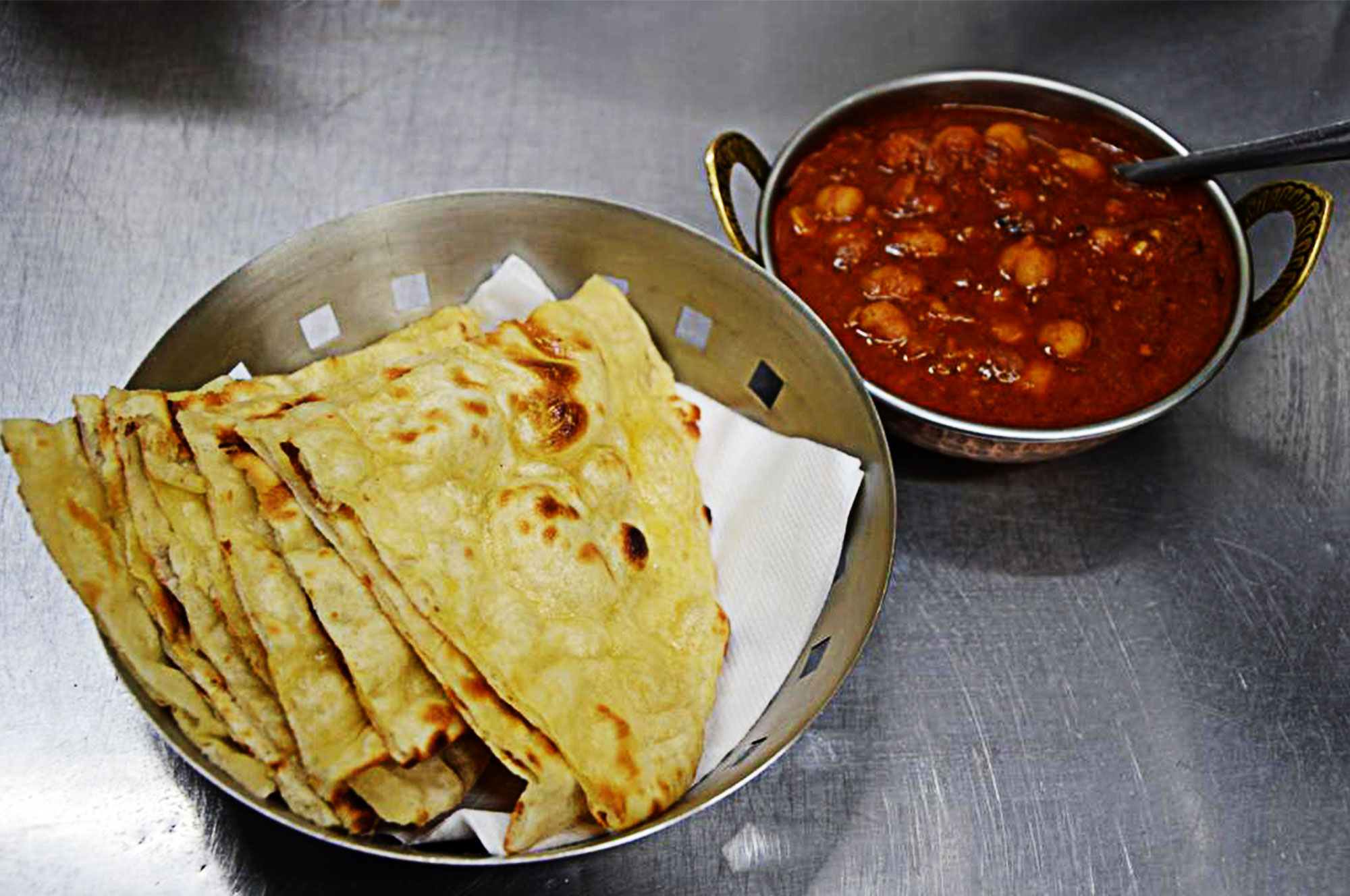 Delivery and takeaway Indian food